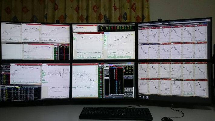 多画面パソコン