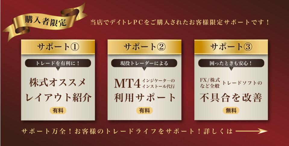 株式オススメレイアウト紹介 MT4利用サポート トレードソフトの不具合を改善